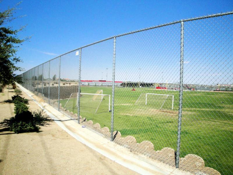 Athlletic School Fence