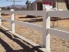 AAFE Video - 2-rail vinyl fence installation