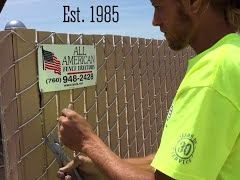 AAFE Video - Privacy Chain Link Fence Stretch Day