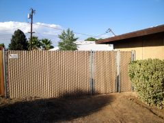 Privacy Fence Chain Link