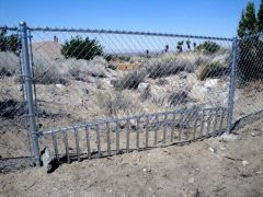 5' chain link, drainage grate