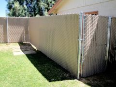 Chain Link Privacy Inserts