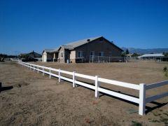 2 Rail Vinyl Style Ranch