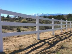 Ranch Rail Vinyl Fencing High Desert