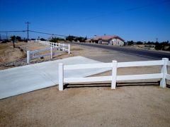 Vinyl Fence 2 Rail