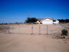 5' chain link, 16' Rolling Gate, 4' walk gate