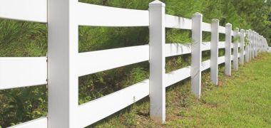 Ranch Vinyl Fence