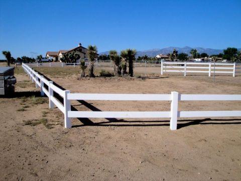Ranch Vinyl 2 Rail