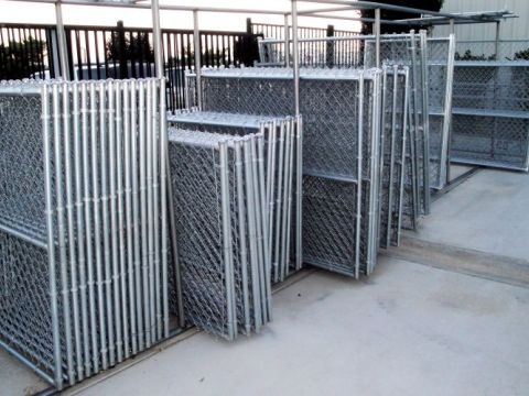 We carry an assortment of stock size chain link gates