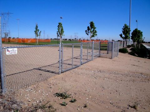 Chain Link Fence, 4 Foot Fence