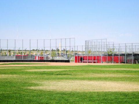 Baseball Field Fence, Oak Hills High School Fence