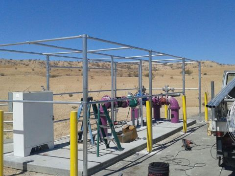 Commercial Fence Installation Apple Valley