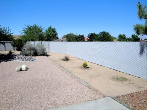 Chain Link Privacy Fence