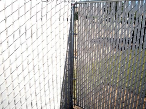 Fencing Chain Link Slats