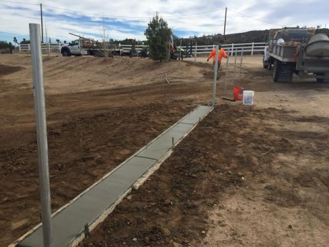 Chain Link Fence Installation High Desert