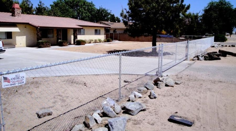 All American Fence chain link fencing