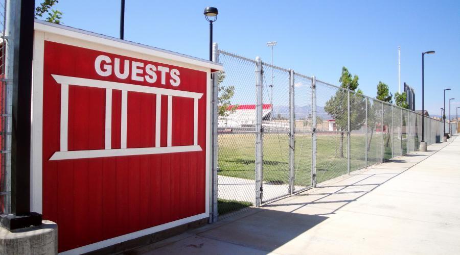Oak Hills High School Footballl Fence