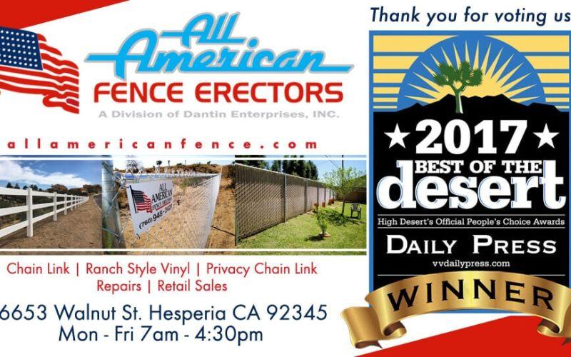 Best High Desert Fence Company