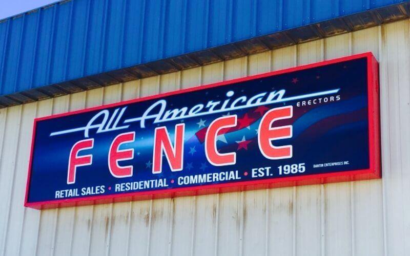 All American Fence Erectors