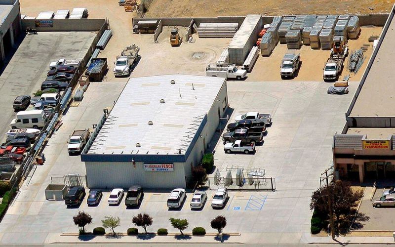Arial view of our Hesperia, CA Warehouse