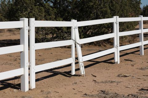 vinyl ranch style gates