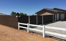 Privacy Chain Link Fence Victorville