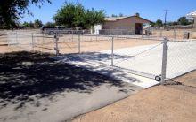 18x4 rolling gate